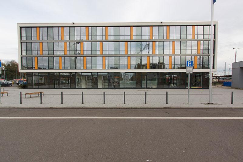 ENTREZ - Neubau eines Büro- und Tagungsgebäudes am Eurobahnhof in Saarbrücken