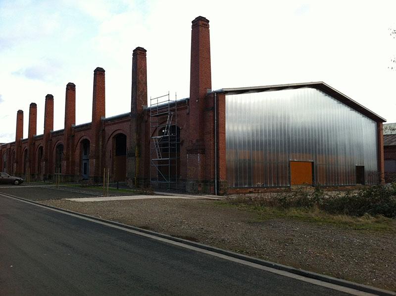 Umnutzung der ehemaligen Federnschmiede in Saarbrücken