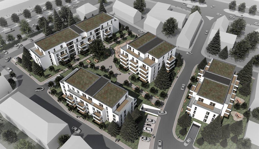 Neubau Wohnanlage Alte Feuerwache, Homburg