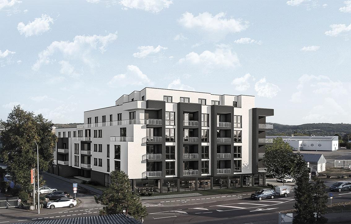 Neubau Wohn- und Geschäftshaus, Trier
