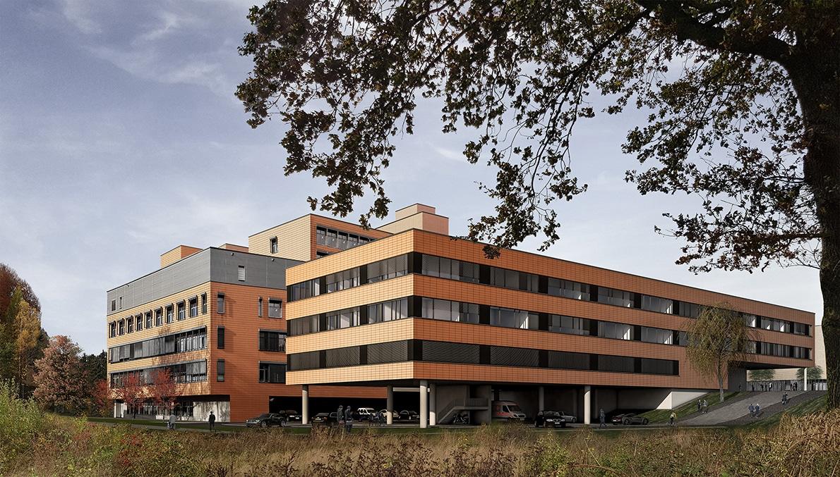 Neubau Intensiv-SHG Kliniken Völklingen
