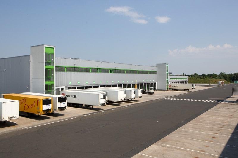 Globus-Logistikzentrum Bingen Zentrales Distributionslager