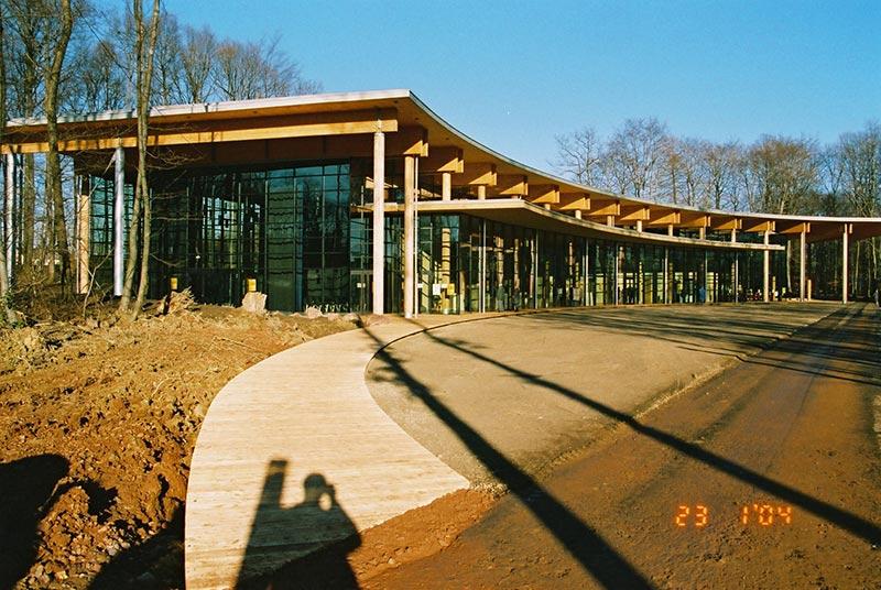 Kurhaus und Besucherzentrum in Orscholz
