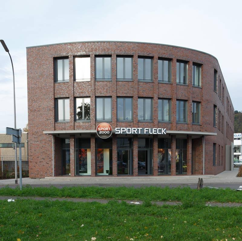 Neubau eines Büro- und Geschäftshauses in Saarbrücken