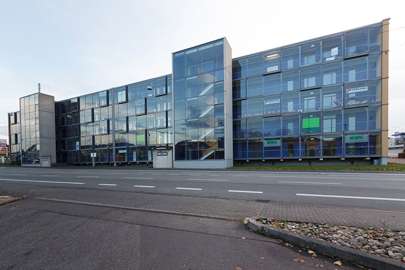 Verwaltungsgebäude VITRINA in Saarbrücken