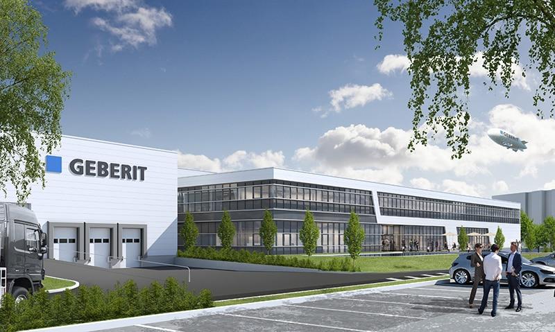 GEBERIT - Greenfield 40 - Produktionsgebäude und Bürogebäude