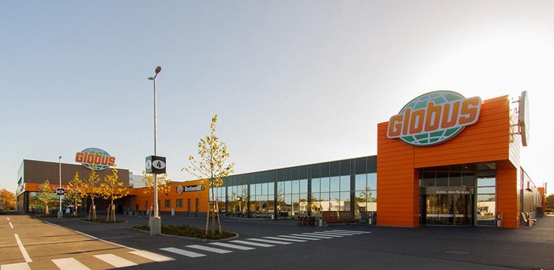 Errichtung eines Globus SB-Warenhauses + Neubau eines Fachmarktzentrums am Standort Rüsselsheim